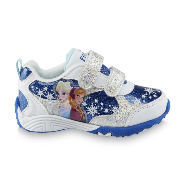 Baby Girl/'s 3D Flowers Sandals Shoes Two-Tone Color White Or Blue Toddler size