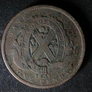 LC-9C-One-Penny-token-Deux-sous-1837-Bas-Canada-Banque-du-Peuple-Breton-521