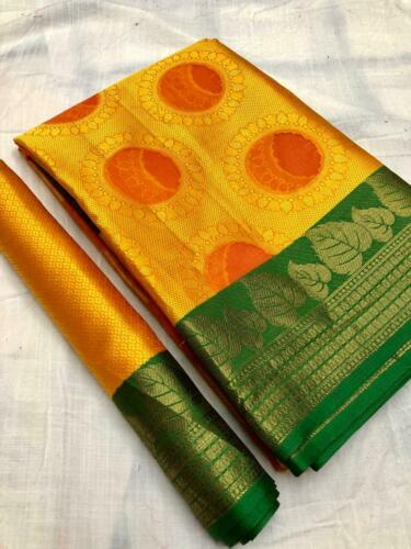 Designer Banarasi Handloom Weaving Silk Saree With Rich Pallu N Heavy Border RD