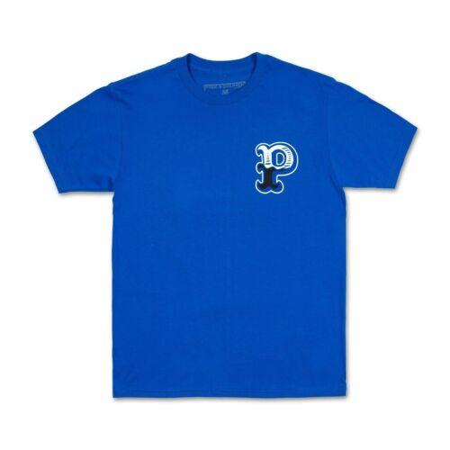 Pink Dolphin Men/'s Pocket Tee Royal Blue Print T-Shirt Tee NWT S M L 2X