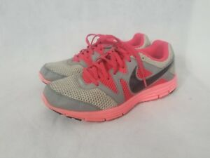 size 40 a1e73 1ce9c Image is loading Nike-Lunarfly-3-Gray-Pink-Lunar-Running-Womens-