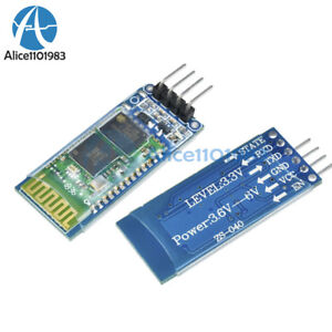 2PCS-Wireless-Serial-4-Pin-Bluetooth-RF-Transceiver-Module-HC-06-RS232-backplane