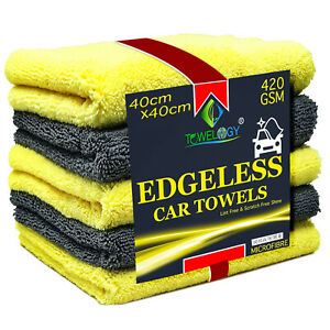 Towelogy-Edgeless-Microfibre-Car-Cleaning-Cloths-Multipurpose-Cleaning-Towels