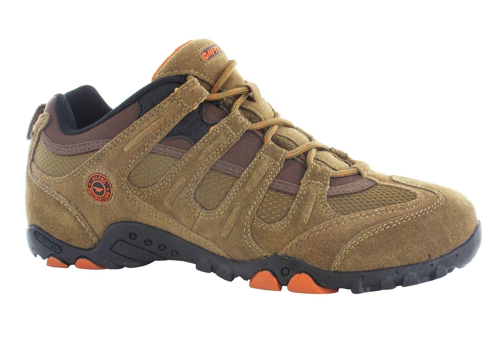 Hi-Tec Quadra Classico da men Trekking Passeggiate shoes da Ginnastica brown