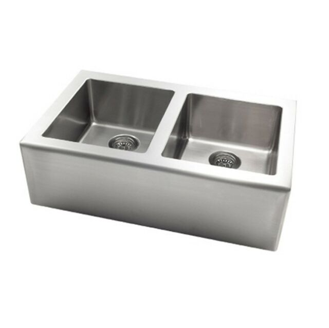 pegasus apron double bowl kitchen sink stainless steel ap2033 for rh ebay com