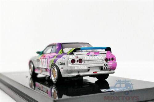 INNO 1:64 Nisssan Skyline GT-R #22 AXIA JTC 1992 Diecast Model Car R32