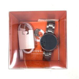 Fossil Para Hombre GEN 4 eXplorist HR de frecuencia cardíaca Acero Inoxidable Pantalla Táctil Smartwatch