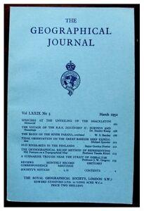 1932-Kemp-ANTARCTIC-VOYAGE-RRS-DISCOVERY-MAP-Graham-Land-Shetland-3