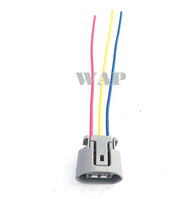 9098010341 9098011491 S6304564 Pigitail Wiring Connector 3-way 3 pin for Toyota Alternator 90980-10341 90980-11491