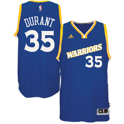 low priced 6e41b 37297 Golden State Warriors adidas Swingman Jersey Kevin Durant #35 Crossover Run  TMC | eBay