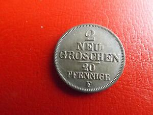 Sachsen-2-Neugroschen-20-Pfennig-1849-F-103-Schub65