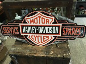 Harley-Service-Sign-Repro