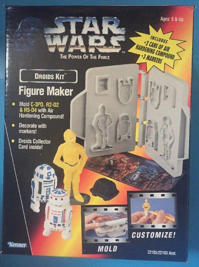 Star - wars - droiden - abbildung schöpfer von kenner 1996 c3po r2d2 r5d4