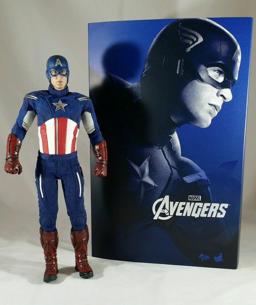 Genuine Hot Toys MMS174 Marvel Avengers 1/6 Captain America action figure Only