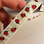 "My Ladybug fabric trim 1//2/"" wide sold by the yard"