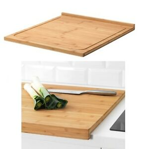 Details About Ikea Lämplig Wooden Large Cutting Chopping Serving Boarduse Both Sidestwo Size