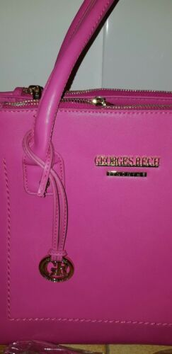 Sac Georges À Rech Rose 30x27x15cm Pink Rech georges Main Créateur rtrwxBv4q