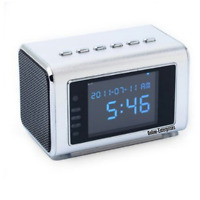 Top Secret Spy Camera Mini Clock Radio Hidden Dvr Home Bedroom Security Cam