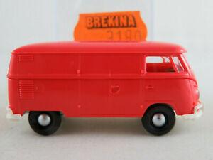 Brekina-3180-VW-Camionnette-t1b-1959-dans-Himbeerrot-1-87-h0-Nouveau-Neuf-dans-sa-boite
