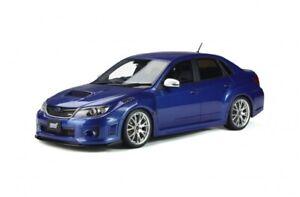 1-18-Otto-mobile-OT851-Subaru-S206-STI-WR-Bleu-Voiture-Modele-WRX