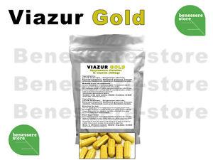 10x VIAZUR GOLD EREZIONE SESSO IMPOTENZA ERBE NATURALI DISFUNZIONE ERETTILE