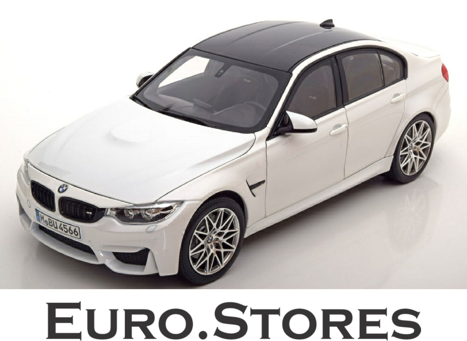 Norev BMW M3 F80 Competition 2016 White Special Ed. Model Car 1 18 Genuine New