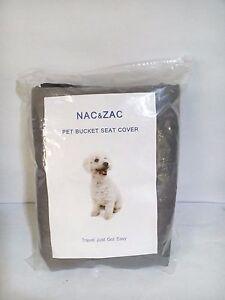 Nac&Zac Bucket Seat Cover Grey