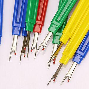 3X-Kunststoff-Nahttrenner-Stich-Pick-Unpick-Fadenschneider-Naehen-Werkzeug-amp-ML