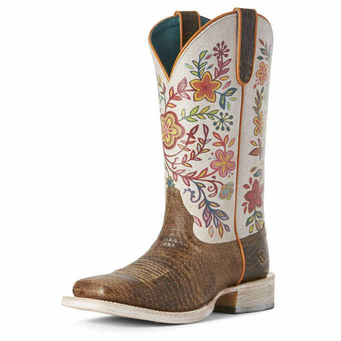 Ariat 10027359 Damen Diamondback Hellbraun 12   Circuit Savanne Cowgirl West