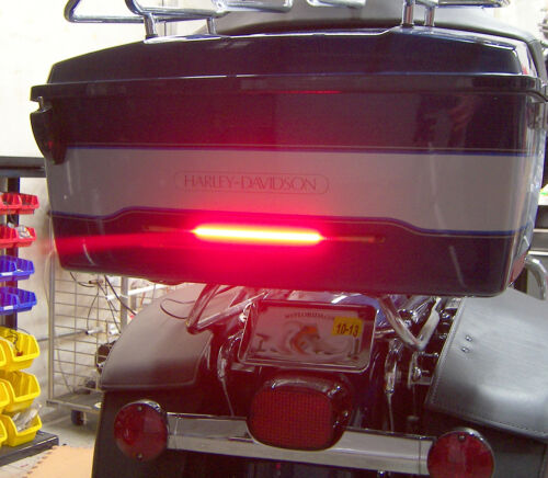 """Red Lens Flexible LED Motorcycle Light Bar w// Brake and Turn Signals 11/"""""""