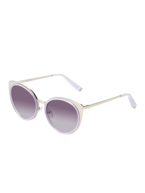 a43b5fdf4da Matthew Williamson by Linda Farrow Lavender Metal   Acetate Cat Eye  Sunglasses