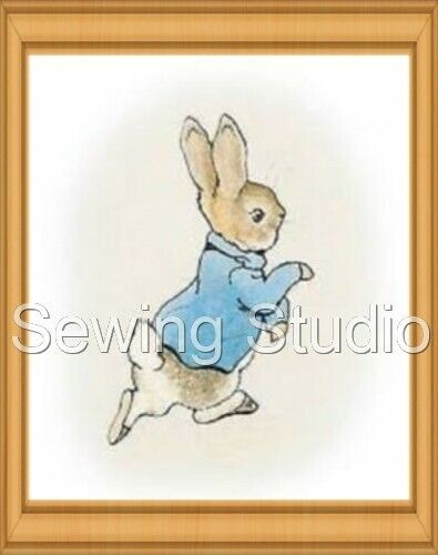 PETER RABBIT DESIGNS MACHINE EMBROIDERY DESIGNS ON CD OR USB