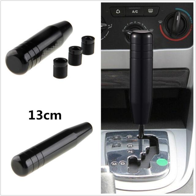 Black 13cm Long Plus Universal Manual Car Gear Stick Shift Knob Shifter Lever