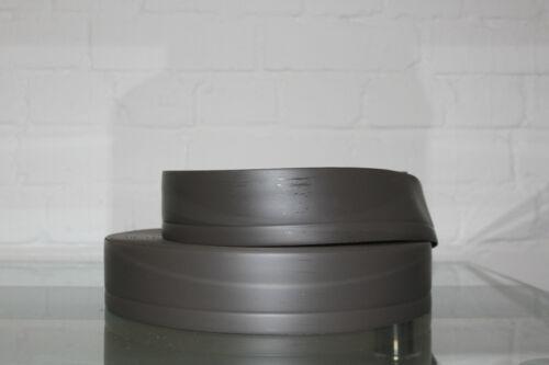 Weichsockelleiste Abdeckleiste 50 Meter x6 cm Grau