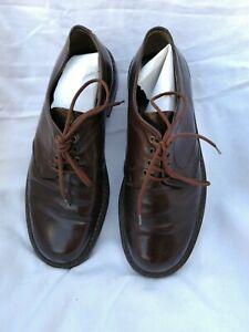 Chaussures de ville homme cuir marron tres bon etat pointure 41