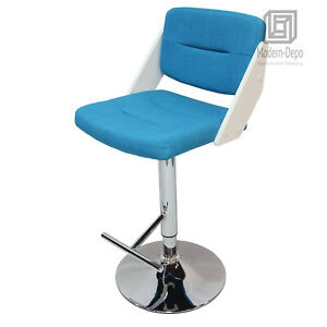 Astonishing Details About Adjustable Height Counter Stool Barstool Fabric Chrome Finish Pedestal Base Evergreenethics Interior Chair Design Evergreenethicsorg