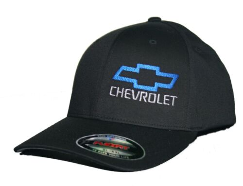 Bowtie hat cap fitted flexfit curved bill chevrolet chevy