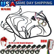 Ls Swaps Standalone Wiring Harness With4l60e 97 06 48l 53l 60l Gm Ls1 Engine Us