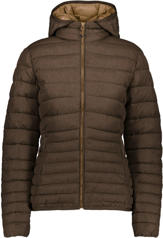 CMP CMP CMP Outdoorjacke Jacke WOMAN JACKET ZIP HOOD braun winddicht wärmend f2aab5