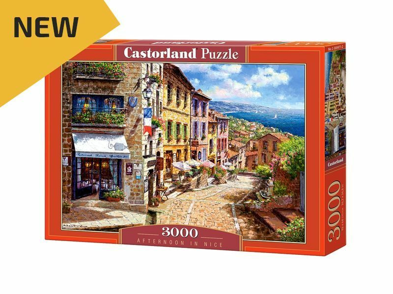 Castorland Puzzle 3000 Pieces - Afternoon in Nice 36  x 27  Sealed box C-300471