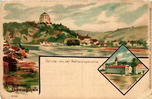 CPA-AK-Gruss-von-der-Befreiungshalle-GERMANY-879503