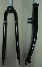 "aprebic EVOTECH 28 "" CYCLO CROSS aluminium FOURCHE NOIR BRILLANT NEUF 1 1/8 """