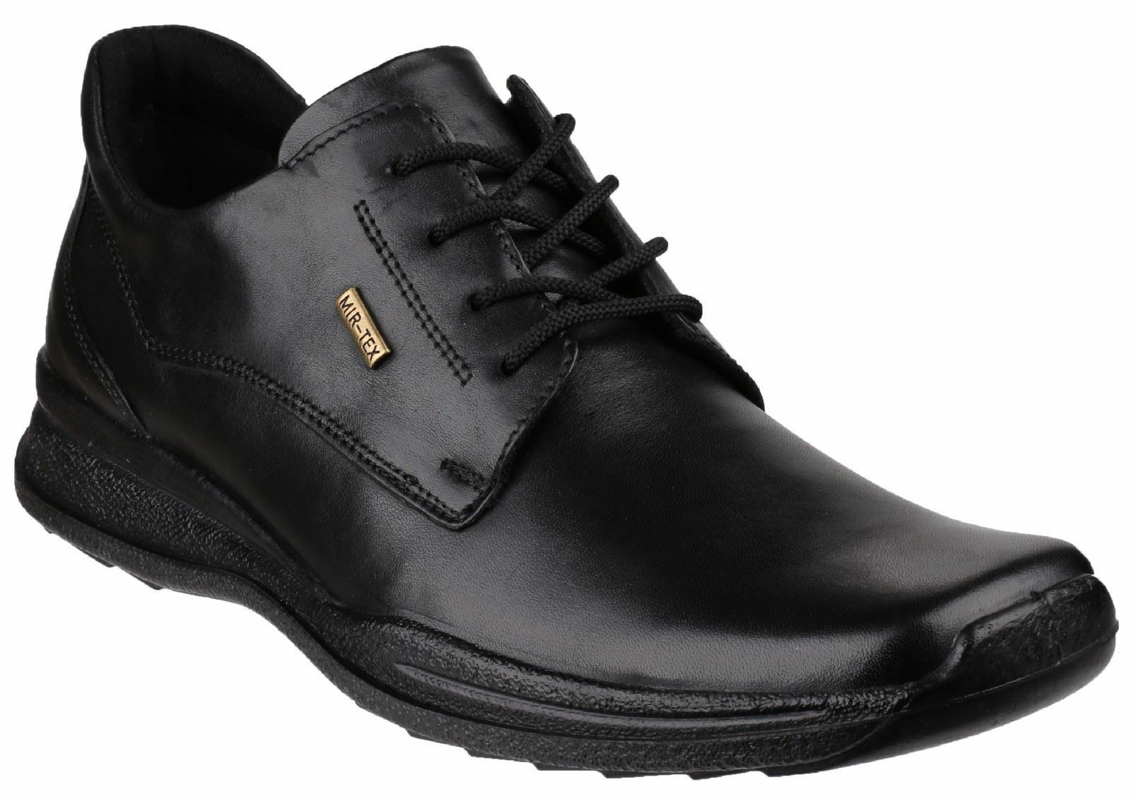 Cotswold Negro Dudley Lace Hombre Leather Zapatos Dudley Negro 1280a1