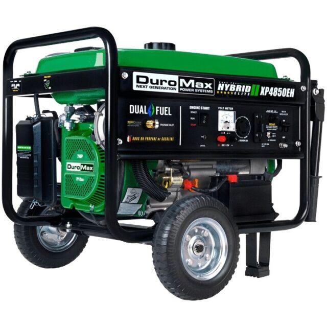 DuroMax XP4850EH Generator-4850 Watt Gas or Propane Powered PICKUP PASADENA MD