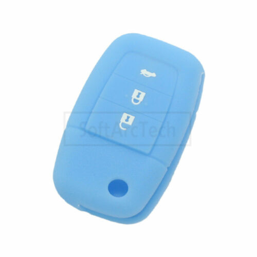 Silicone Cover Case Holder fit for HOLDEN Commodore Flip Remote Key Fob 4 Button