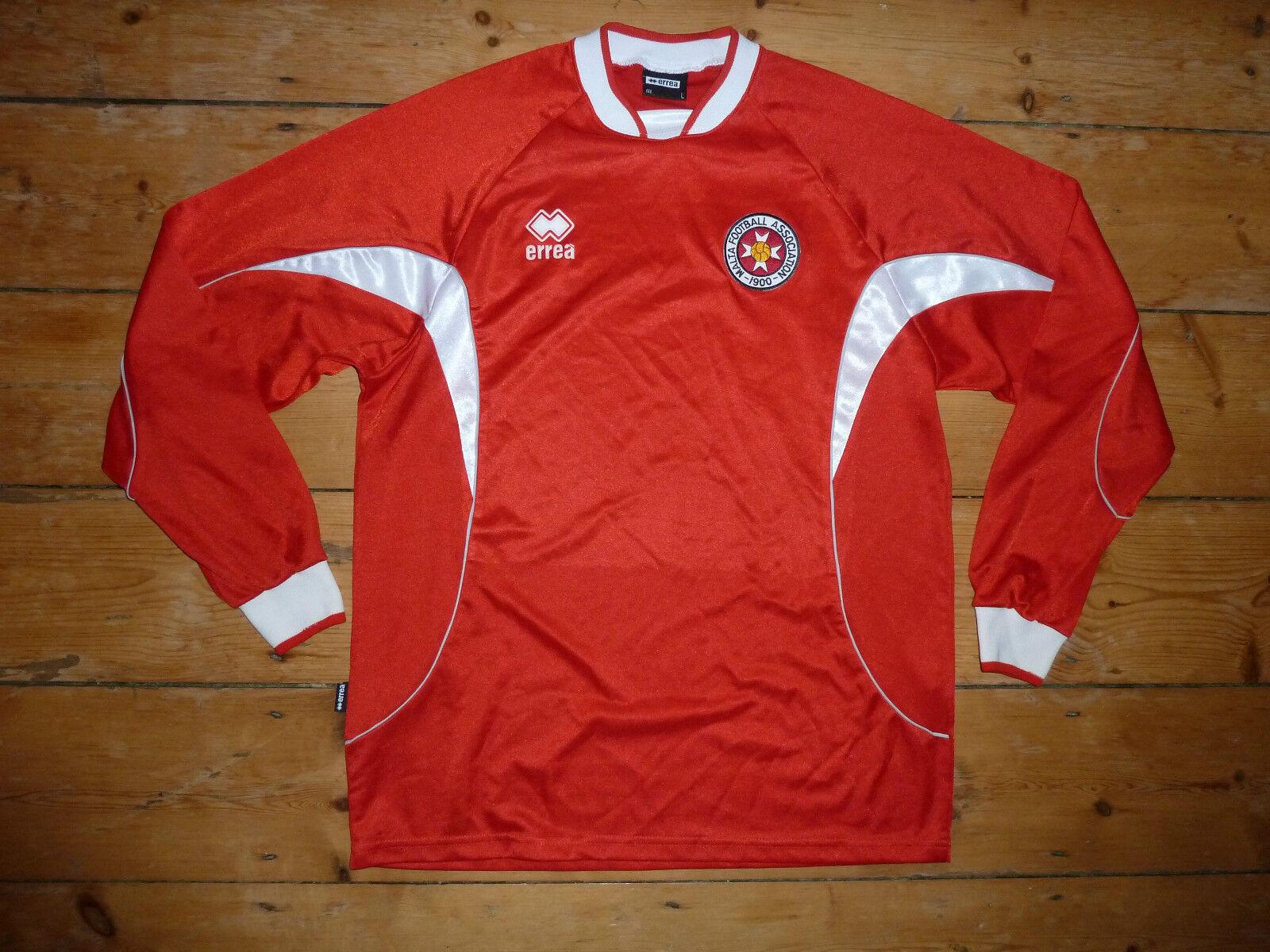 Malta Maillot de Foot Grand Rétro Maglia Tee-Shirt Tricot Football Chemise Malte