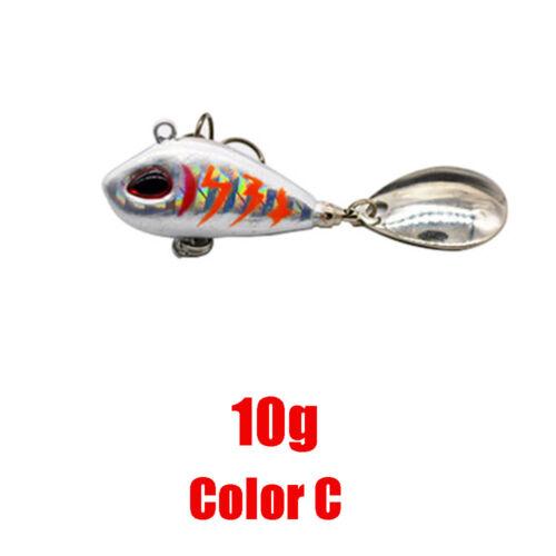 Lebensechte Fischköder Swimbait VIB Harte Köder Fisch Drillingsgerät 5 Farben