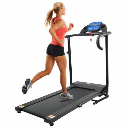 TREADMILL Folding Running Machine Motorised Electric Fitness New by NERO SPORT
