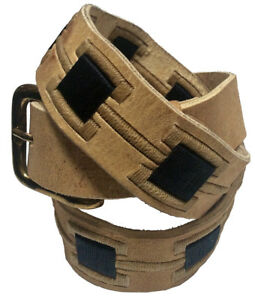 034-Oran-034-100-Argentine-Embroidered-Rawhide-Leather-Polo-Belt-The-Best-Quality
