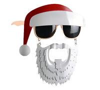 Party Kostüm Neuheit Kleid Cosplay Sonnenbrille Club Santa Weihnachten